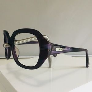 Coach Purple Eyeglasses frames